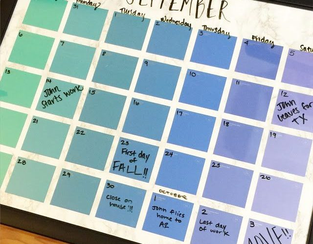For Teens Diy Teens Create Penmanship Calendars At The